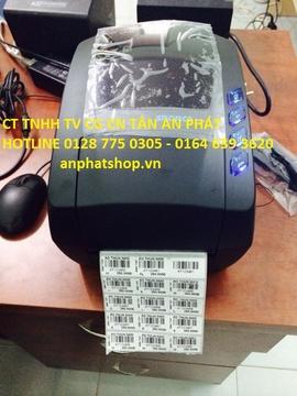Máy in tem mã vạch cho cửa hàng điện tử gia dụng