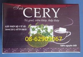 Bán Trà CERY= Loại trà chữa bệnh Gout, lợi tiểu, chữa tê thấp, nhức mỏi tôt