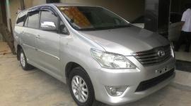 Bán Toyota Innova V 2. 0 AT 2012, 669 triệu, màu bạc
