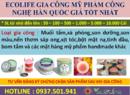Tp. Hồ Chí Minh: Gia công mỹ phẩm các loại giá tốt CL1701121