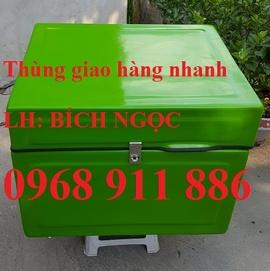 Thùng chở hàng, thùng giao cơm, thùng giao trái cây
