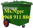 Tp. Hồ Chí Minh: Xe đẩy rác ,xe rác 660l, 1000l, thùng đựng rác sinh hoạt CL1700970
