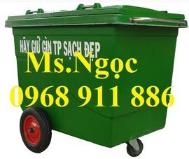 Xe đẩy rác ,xe rác 660l, 1000l, thùng đựng rác sinh hoạt