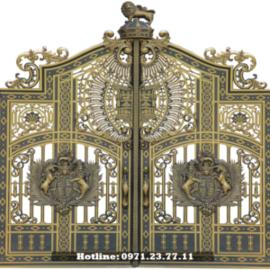 Cổng Nhôm Đúc Minh Anh - Cửa Cổng Tinh Tế Cho Gia Đình Bạn