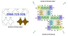 0904-671-086 bán lại căn 65m-B6 chung cư Green Star, Từ Liêm