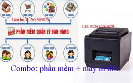Phần mềm lập hóa đơn bán hàng kèm máy in bill tại Cần Thơ
