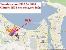 Bán đất 3 MT, 230m2 đường Duy Tân và Hồ Tùng Mậu, Đà Nẵng gần biển Nguyễn Tất Thàn