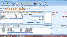 Bộ phần mềm giá rẻ tính tiền, thu chi cho shop tại BÌNH THỦY