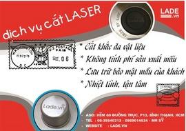 Dịch vụ gia công cắt khắc laser - lade khu vực Bình Thạnh