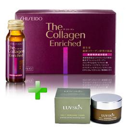 Quảng cáo collagen shiseido enriched dạng nước hiệu quả