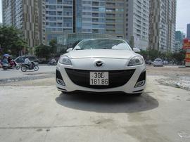 Mazda 3 hatchback trắng AT 2010, 565 triệu
