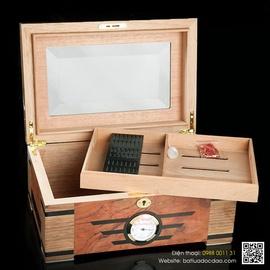 Hộp giữ ẩm Cigar, hộp bảo quản Cigar Trinidad T001 cao cấp