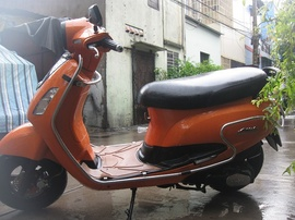 nhà bán xe sym attila elizabeth màu cam đen 2010 bstp chính chủ công chứng zin