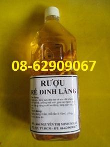 Rượu Đinh Lăng-=- tuần hoàn máu tốt, ngừa tai biến, đột quỵ
