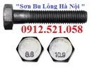 Tp. Hà Nội: Bu lông cấp bền 8. 8 và 10. 9 bán Hà Nội 0912. 521. 058 bán đai ốc thép 8. 8 CL1702269