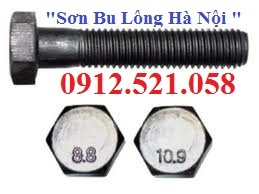 Bu lông cấp bền 8.8 và 10.9 bán Hà Nội 0912.521.058 bán đai ốc thép 8.8