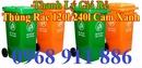 Tp. Hồ Chí Minh: Thùng rác nhựa 2 bánh xe, thùng rac môi trường xanh, thùng chứa rác thải CL1701743