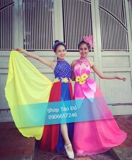 Chuyên may bán và cho thuê trang phục váy múa