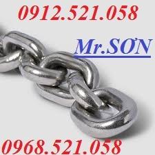 Dây xích thép mạ kẽm & Xích INOX 201,304 bán Hà Nội 0947.521.058 Mr.Sơn