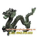 Tp. Hà Nội: Tượng rồng giả cổ 39cm, rồng phong thủy cầm ngọc, rồng vờn ngọc, tượng rồng giả CL1703005