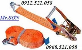 Bán cảo vải - Tăng đơ dây chằng hàng vải 0912.521.058 cáp vải cẩu hàng