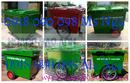 Gia Lai: bán xe rác composite, xe rác công cộng, xe rác 660 lít, xe thu gom rác, xe rác CL1701743