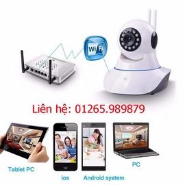 Camera không dây giao tiếp 2 chiều tại Ninh Kiều