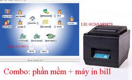 Phần mềm lập hóa đơn bán hàng kèm máy in bill tại Ninh Kiều