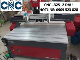 Máy CNC 2 đầu đục tranh 3 D