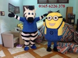 Ngựa vằn & Minion