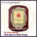 Tp. Hồ Chí Minh: Chuyên làm bằng chứng nhận gỗ đồng, bằng khen gỗ đồng CL1698691
