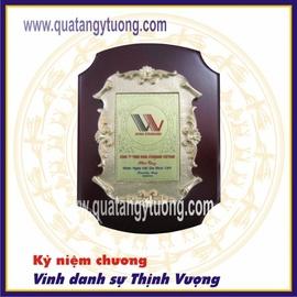 Xưởng sản xuất trực tiếp kỷ niệm chương gỗ đồng giá rẻ