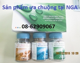 Bán Renaissence Triple SET-Sản phẩm NGA-Thải độc, cân bằng, chống lão hóa