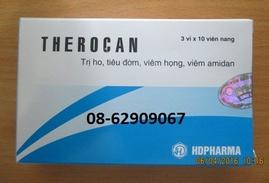 THEROCAN-=- Sản phẩm Chữa ho, giảm đờm, viêm họng, viêm Amidan
