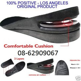 Miếng lót giúp cao thêm từ 2 đến 9cm cho giày Nữ và Nam =, mẫu mới, rẻ