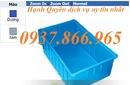 Tp. Hà Nội: rổ nhựa hs005, sọt nhựa ,thùng nhựa rỗng, rổ nhựa đan, khay nhựa b4, sóng nhựa bít CL1702346