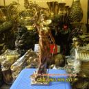 Tp. Hà Nội: Tượng nữ thần công lý bằng đồng cao 30cm, tượng đồng nữ thần công lý, tượng nữ t CL1703005