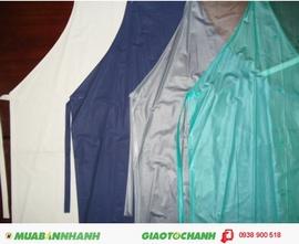 Yếm nilon/ PE thủy sản, CTY TNHH BẢO HỘ LAO ĐỘNG VINA chuyên cung cấp các loại yếm