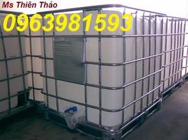 """""""thùng nhựa 1000l, tank nhựa, tank nhua giá rẻ, tank IBC, bồn nhựa"""