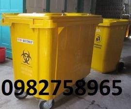 thùng rác y tế, thùng rác nhựa, túi rác thải y tế, thùng rác 15l, hộp đựng kim tiêm,
