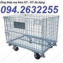Tp. Hà Nội: lồng trữ hàng, sọt lưới thép, sọt lưới sắt giá rẻ, xe nâng tay, xe hàng đẩy tay, CL1702622