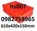 Tp. Hải Phòng: sọt nhựa giá rẻ, thùng nhựa rỗng giá rẻ, thùng nhựa hs006, khay nhựa giá rẻ, kệ linh CL1702581