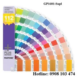 Pantone FORMULA GUIDE GP1601Supl Gồm 112 màu phần bổ sung cho phiên bản GP1601