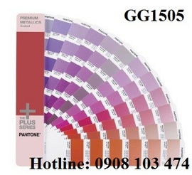 Pantone Plus Premium Metallics Coated GG1505