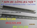 Tp. Hà Nội: 0912. 521. 058 Bán Thanh C Channel / Thanh Chống Đa Năng Unistrut 41x41x3 mét CL1702563