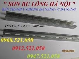 0912.521.058 Bán Thanh C Channel / Thanh Chống Đa Năng Unistrut 41x41x3 mét