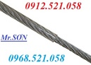 """Tp. Hà Nội: Dây cáp Inox sus 304 bọc nhựa 6 mm (6 Ly) Hà Nội 0968. 521. 058 """"Sơn cáp"""" CL1702729"""