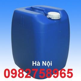 thùng đựng hóa chất, can nhua, can nhua 25l gia re, can nhua 30l mau xanh, can nhua