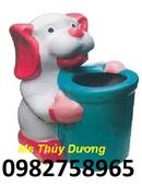 Tp. Hà Nội: thùng rác, thung rac hinh thu, thung rac hinh con voi, thung rac gia re, thung rac CL1702632