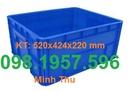 Tp. Hải Phòng: thùng nhựa, thùng nhựa a6, thung nhua gia re, khay nhua vat, khay dung linh kien, thu CL1702760